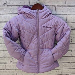Columbia kids puffer jacket size XS
